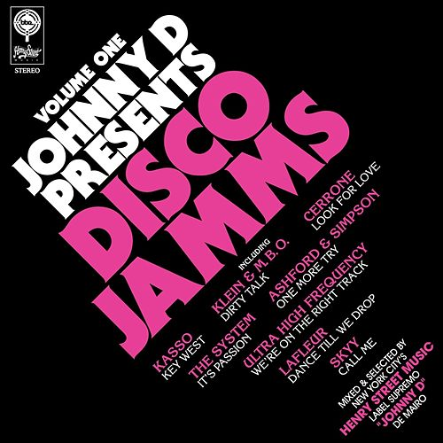 Johnny D Presents Disco Jamms Vol. 1 von Various Artists