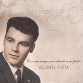 Con mis amigos recordando a mi padre Vicente Fleta de Vincenç