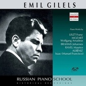 Brahms, Mozart & Others: Piano Works (Live) by Emil Gilels