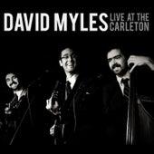 Live At The Carleton by David Myles