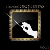 Grandes Orquestas, Vol. 1 de Orquesta Mantovani, Ray Conniff, Billy Vaughn, Percy Faith, The Carnaval Orquesta, Jimmy Dorsey, Frank Chacksfield y Su Orquesta, Nini Rosso, Los Mayas, Helmut Zacharias, Las de Angelis, Arthur Prysock, Russel Conway, Francis Lai, Henry Mancini