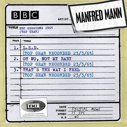 BBC Sessions (Top Gear Recorded 1965) by Manfred Mann