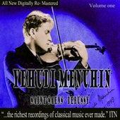 Yehundi Menuhin - Saint-Saens, Debussy Volume One by Yehudi Menuhin