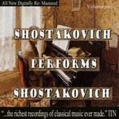 Shostakovich Performs Shostakovich Volume One von Dmitri Shostakovich