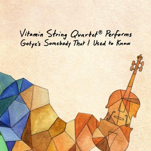Vitamin String Quartet Performs Gotye's Somebody That I Used to Know by Vsq