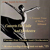 Concerto for Violin and Orchestra - Poeme for Violin and Orchestra de Various Artists