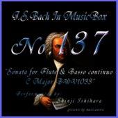 Bach In Musical Box 137 / Sonata For Flute And Basso Continuo C Major Bwv1033 by Shinji Ishihara