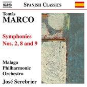 Marco: Symphonies Nos. 2, 8 & 9 de Jose Serebrier