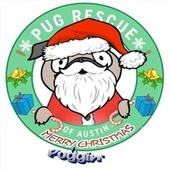 Merry Puggin' Christmas by Austin Apologue