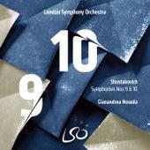 Shostakovich: Symphonies Nos. 9 & 10 by Gianandrea Noseda