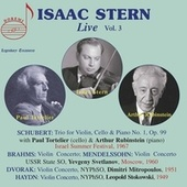 Isaac Stern Live, Vol. 3 by Isaac Stern