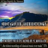 Rozhdestvensky - Shostakovich Symphony No. 10 in E Minor Op. 93 by USSR Ministry of Culture Symphony Orchestra