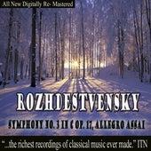 Rozhdestvensky Symphony No. 3 in C Op. 17 by Various Artists