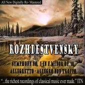 Rozhdestvensky Symphony No. 1 in F Minor Op. 10 by Various Artists