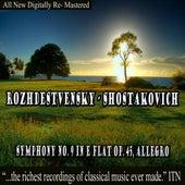 Rozhdestvensky - Shostakovich Symphony No. 9 in E-Flat Op. 45 by Various Artists
