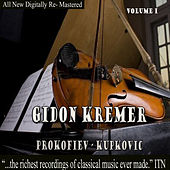 Gidon Kremer - Prokofiev, Kupkovic  Volume 1 de Gidon Kremer