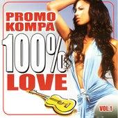 Promo Kompa: 100% Love Vol. 1 by Various Artists