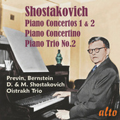 Shostakovich Piano Concertos, Concertino, Trio No. 2 di Various Artists