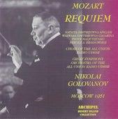 Wolfgang Amadeus Mozart : Requiem (Moscow 1951) de Nikolai Golovanov