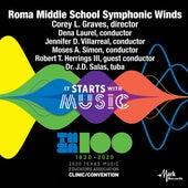 2020 Texas Music Educators Association (TMEA): Roma Middle School Symphonic Winds [Live] by Roma Middle School Symphonic Winds