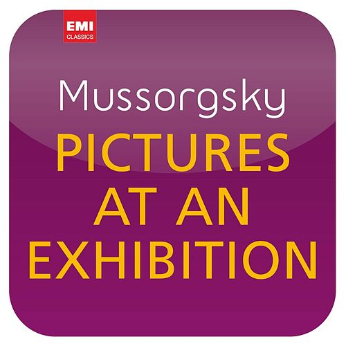 Mussorgsky/Ravel: Pictures at an Exhibition ('Masterworks') by Sir Simon Rattle