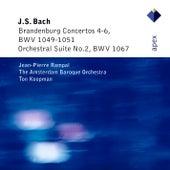 Bach, JS : Brandenburg Concertos Nos 4 - 6 & Orchestral Suite No.2 de Ton Koopman