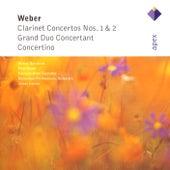 Weber : Clarinet Concertos Nos 1 & 2, Grand Duo concertant & Concertino by James Conlon, Walter Boeykens, Paul Meyer, François-René Duchable & Rotterdam Philharmonic Orchestra