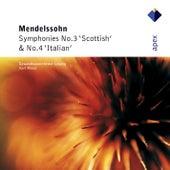 Mendelssohn : Symphonies Nos 3 & 4 by Kurt Masur