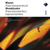 Mozart & Mendelssohn : Piano Concertos (-  Apex) by Helen Huang, Kurt Masur & New York Philharmonic Orchestra