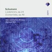 Schumann : Liederkreis, Dichterliebe & Lieder von Dietrich Fischer-Dieskau