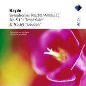 Haydn : Symphonies Nos 30, 53 & 69 von Nikolaus Harnoncourt