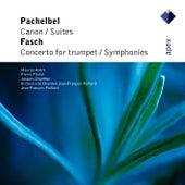 Pachelbel & Fasch : Orchestral Works de Maurice André, Pierre Pierlot, Jean-François Paillard & Orchestre de Chambre Jean-François Paillard