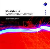 Shostakovich : Symphony No.7, 'Leningrad' de Mstislav Rostropovich