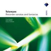 Telemann : Recorder Sonatas & Fantasias by Anner Bylsma Frans Brüggen