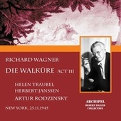 DIe Walküre Act 3 complete and Orchestral Ring excerpts conducted by Artur Rodzinsky di Helen Traubel