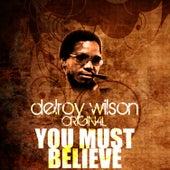 You Must Believe by Delroy Wilson
