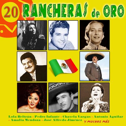 20 Rancheras de Oro by Various Artists