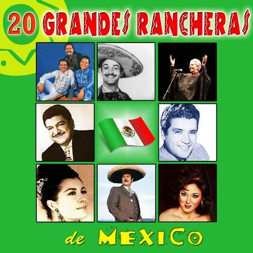 20 Grandes Rancheras de México by Various Artists