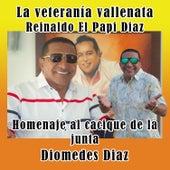 Homenaje al Cacique de la Junta Diomedes Diaz von La Veteranía Vallenata Reinaldo El Papi Diaz