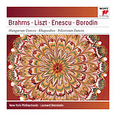 Brahms: Hungarian Dances Nos. 5 & 6; Liszt: Les Préludes; Hungarian Rhapsodies Nos. 1 & 4; Enescu: Romanian Rhapsody No. 1 - Sony Classical Masters by Leonard Bernstein