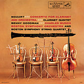 Mozart: Clarinet Concerto in A Major K.622 & Clarinet Quintet in A Major K.581 - Sony Classical Originals de Benny Goodman