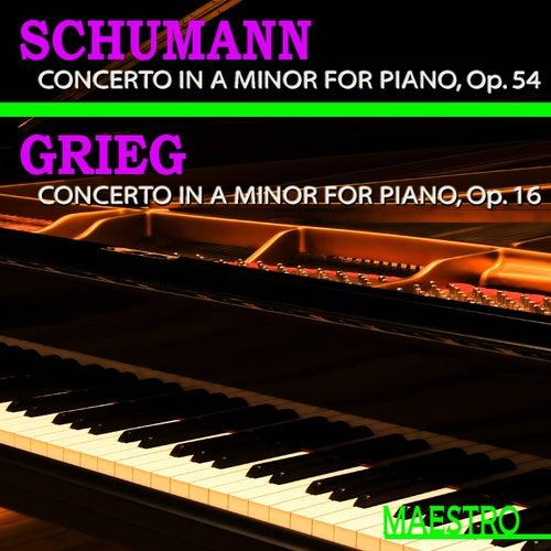 Grieg: Piano Concerto in A Minor - Schumann: Piano Concerto in A Minor by Slovak Philharmonic Orchestra