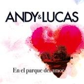 En el Parque del Amor de Andy & Lucas
