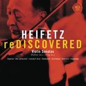 Heifetz Rediscovered - Grieg: Sonata No. 3 in C Minor, Op. 45, Brahms: Sonata No. 1 in G, Op. 78 de Jascha Heifetz