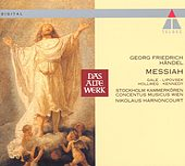 Handel : Messiah by Nikolaus Harnoncourt