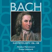 Bach, JS : Sacred Cantatas BWV Nos 106 - 108 von Various Artists