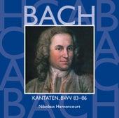 Bach, JS : Sacred Cantatas BWV Nos 83 - 86 von Nikolaus Harnoncourt