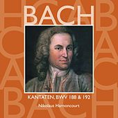 Bach, JS : Sacred Cantatas BWV Nos 188 & 192 von Nikolaus Harnoncourt