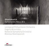 Shostakovich : Symphonies Nos 5 & 6 (-  Elatus) de Yevgeny Mravinsky