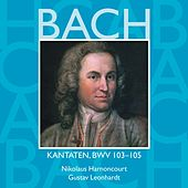 Bach, JS : Sacred Cantatas BWV Nos 103 - 105 von Various Artists